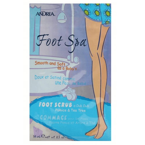 Foot Spa Foot Scrub a Dub Dub Pumice & Tea Tree - Andrea - Foot Scrub