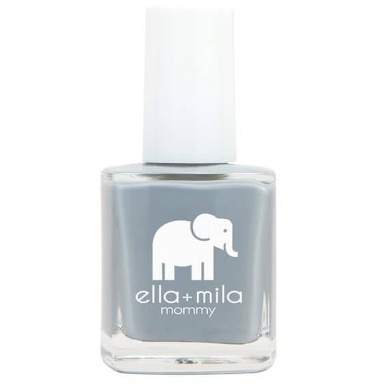 grey skies  - ella+mila - nail polish