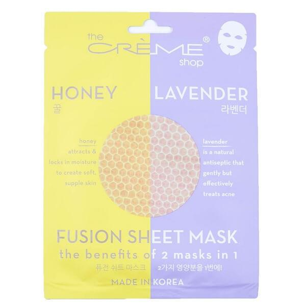 Honey & Lavender Sheet Mask - the creme shop - facial mask