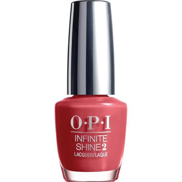 in familiar terra-tory - opi inifinte shine - nail polish