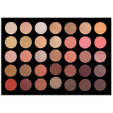 35rg rose gold eyeshadow palette - crown brush - eyeshadow