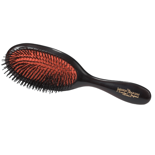 handy bristle all boar bristle hair brush - mason pearson - hair brush