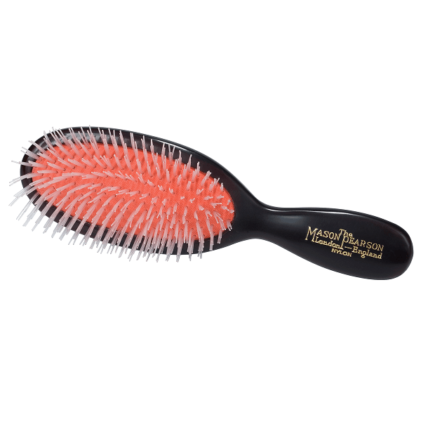 pocket nylon all nylon hair brush - mason pearson - hair brush