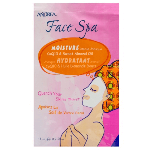 Face Spa Moisture Intense Masque CoQ10 & Sweet Almond Oil - Andrea - Face Mask