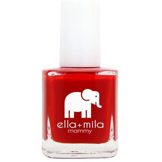 pain the town red  - ella+mila - nail polish