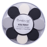 petal perfect sponges black and grey - the creme shop - makeup sponges