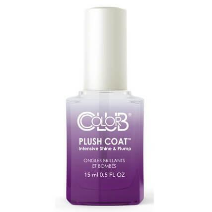 perfect plush coat - color club - nail treatment