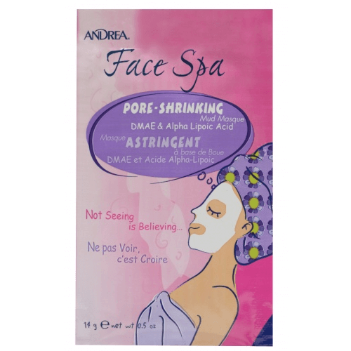 Face Spa Pore-Shrinking Mud Mask DMAE & Alpha Lipoic Acid - Andrea - Face Mask