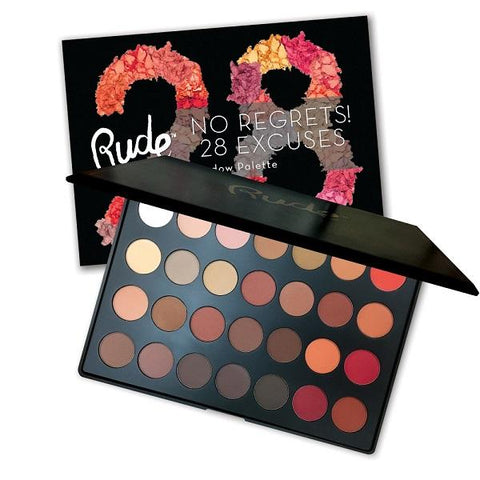 Rude Cosmetics Return Of The Jet Eyeshadows - Book 4