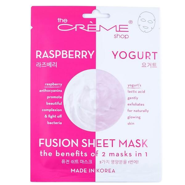 Raspberry & Yogurt Sheet Mask - the creme shop - facial mask
