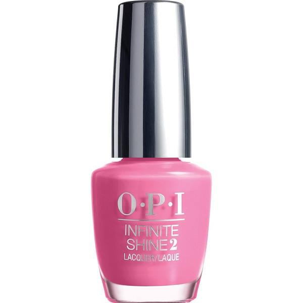 rose against time - opi infinite shine - nail polish