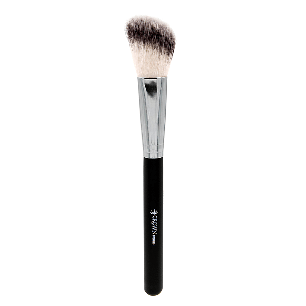 SS013 Deluxe Angle Brush - crown brush - makeup brushes 2