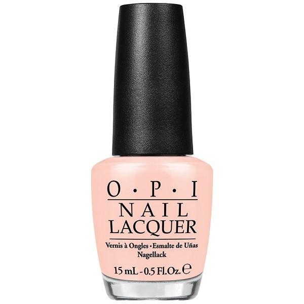 stop it I'm blushing - opi - nail polish