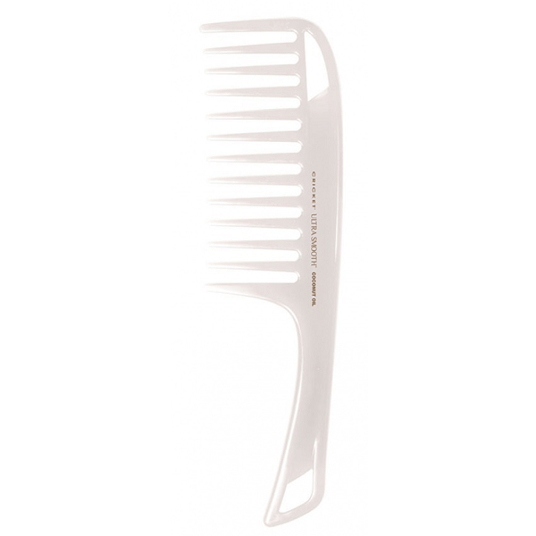 ultra smooth coconut detangler comb - cricket - comb