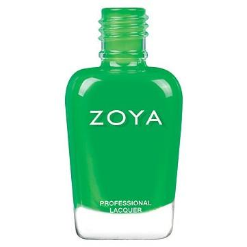 evergreen - zoya - nail polish