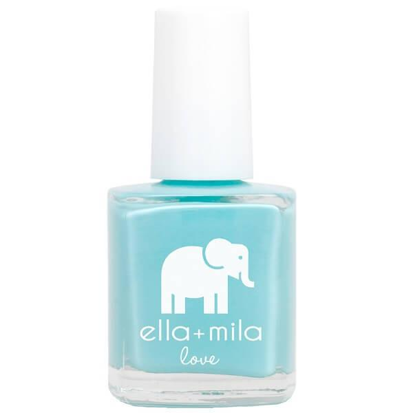 beach resort blue  - ella+mila - nail polish