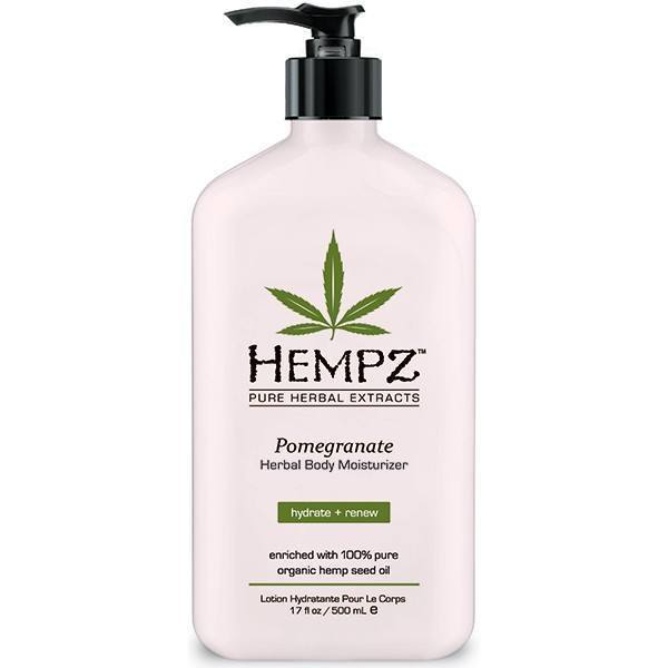 hempz pomegranate herbal body moisturizer - hempz - body