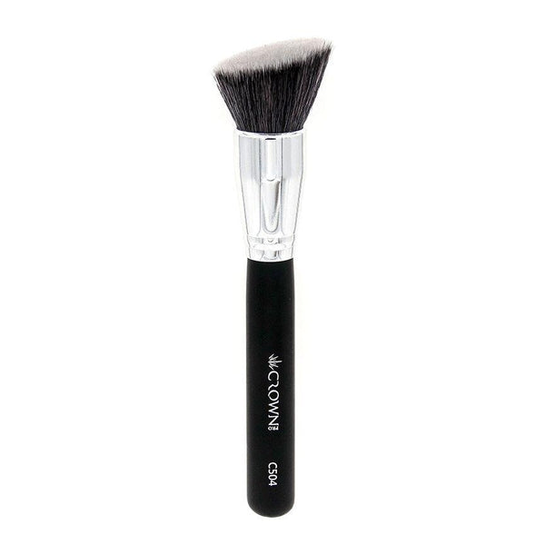 C504 1 Pro Angle Bronzer Crown Brush Makeup Brush