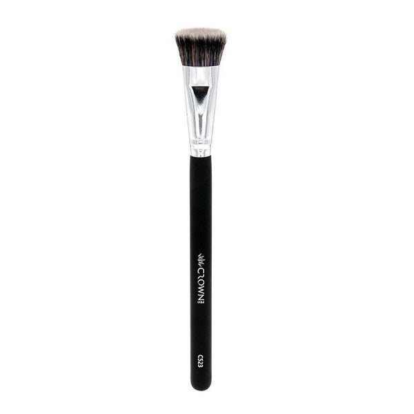 C523 1 Pro Mini Flat Contour Crown Brush Makeup Brush