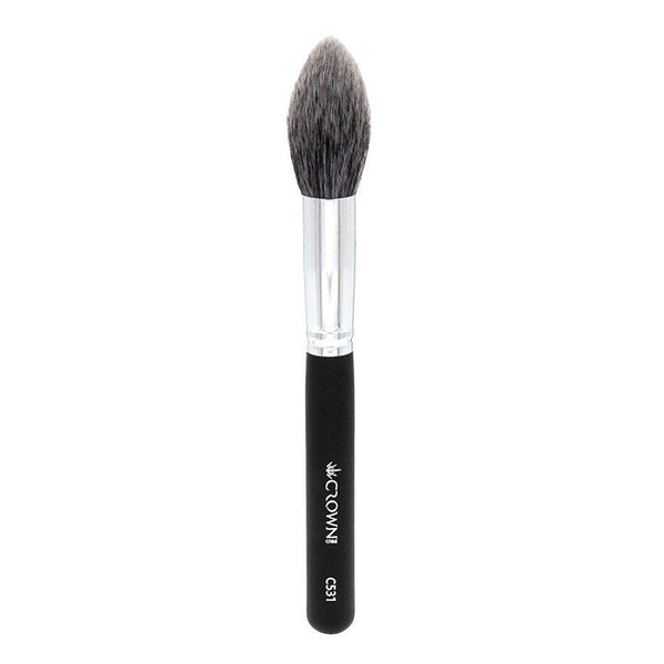 C531 1 Pro Lush Pointed Powder Contour Crown Brush Makeup Brush