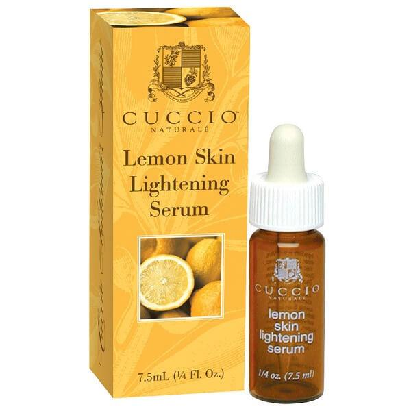 lemon skin lightening serum - cuccio - skin lightener