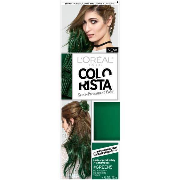 L'Oréal Paris Colorista Semi-Permanent Hair Color For Brunettes