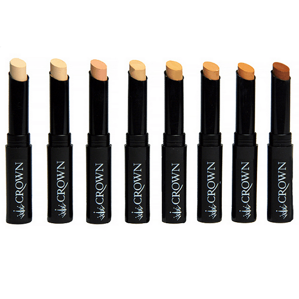 pro concealer stick - crown brush - concealer