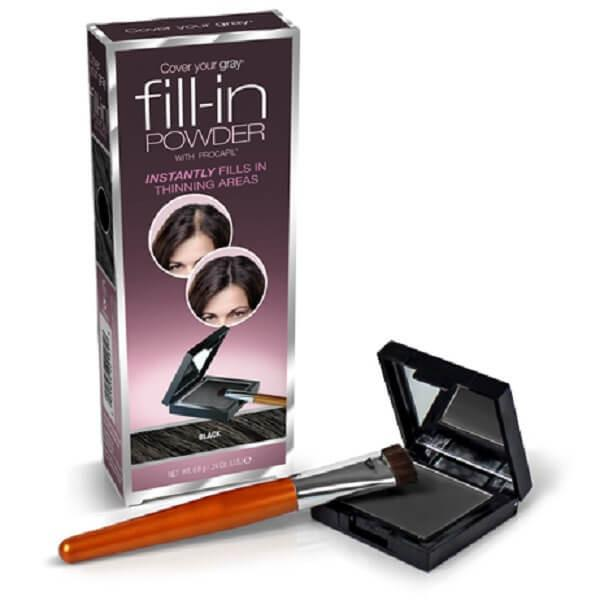 Fill-In Powder - Compact & Brush Applicator
