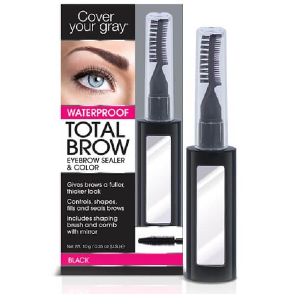 Total Brow Eyebrow Sealer And Color By Cover Your Gray