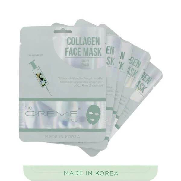 the creme shop collagen face mask 2