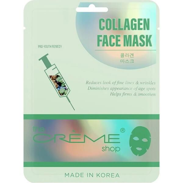 the creme shop collagen face mask