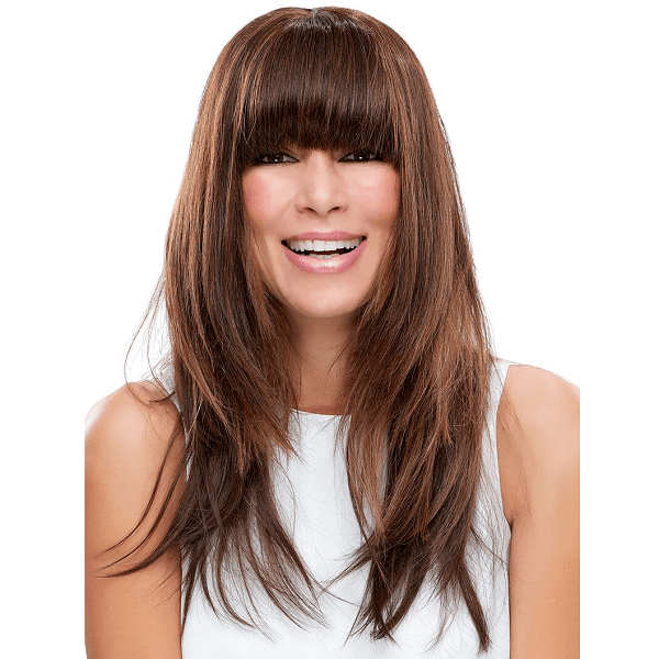 easifringe human hair clip in bangs - easihair - extensions 5