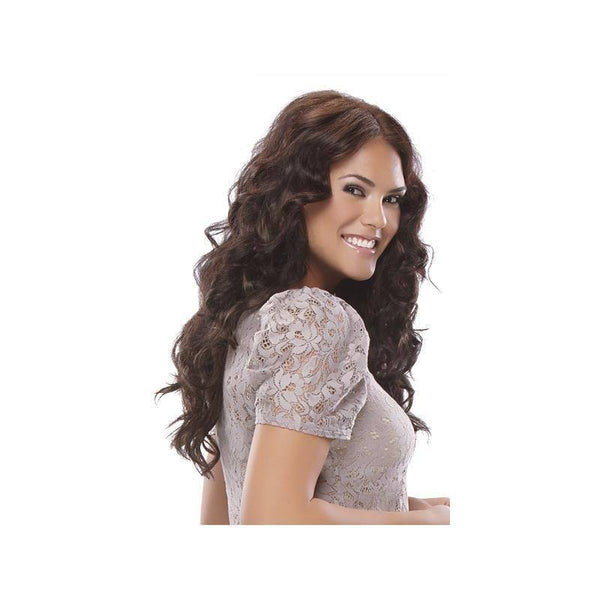 easixtend hd5 20 inch, wavy, 5 piece clip in hair extensions - easihair - extensions
