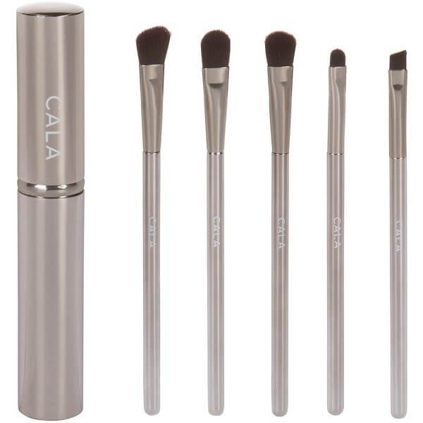 Eye Need It Essential Eye Makeup Brush Set Silver by CALA