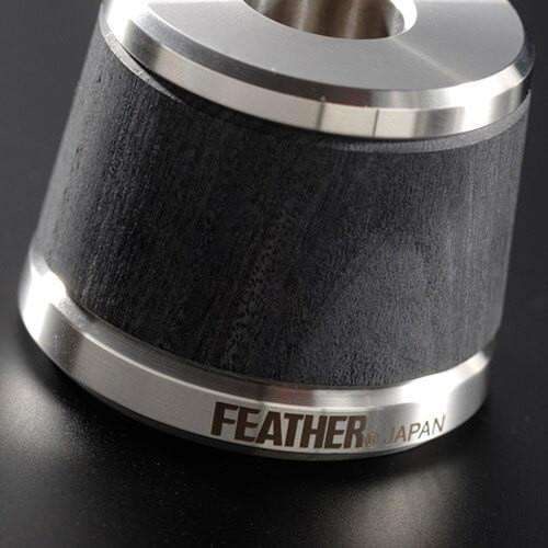 feather-as-d2s-wood-handle-steel-double-edge-razor-with-stand-