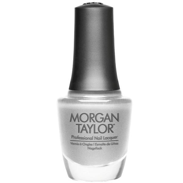 gifted platinum - morgan taylor - nail polish