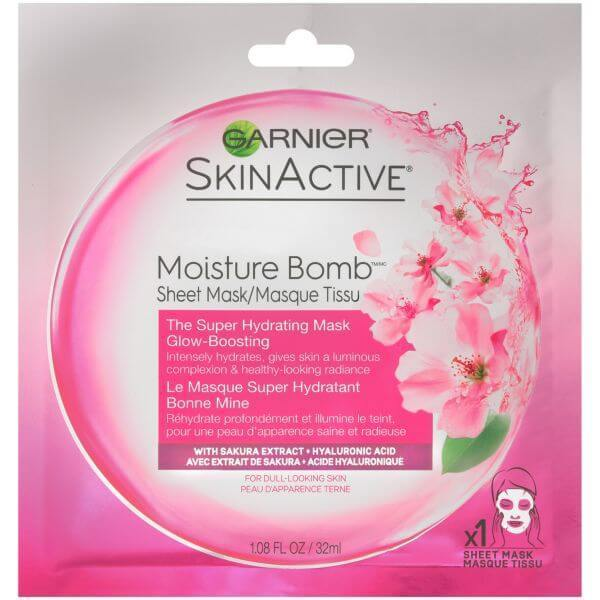 Garnier SkinActive Super Hydrating Sheet Mask Glow-Boost