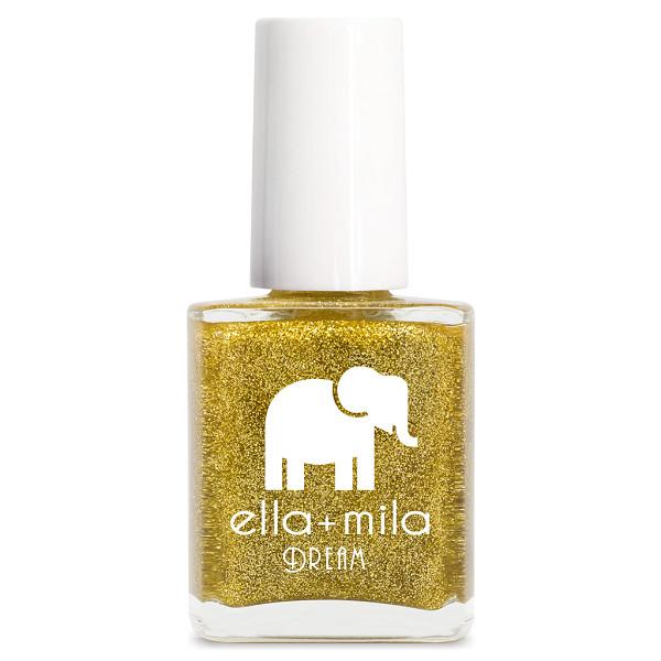 golden fairy - ella+mila - nail polish