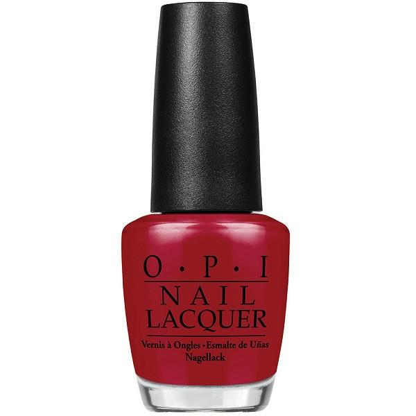 got the mean reds - opi - nail polish