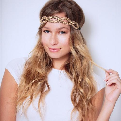 grafton headband - tassel - hair