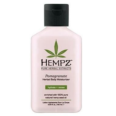 hempz mini pomegranate herbal moisturizer - hempz - body moisturizer