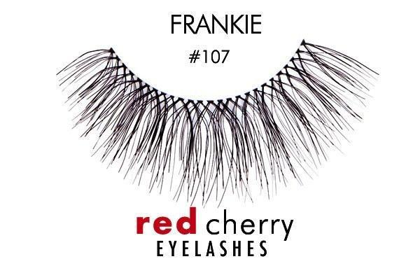 107 - frankie - red cherry lashes - lashes