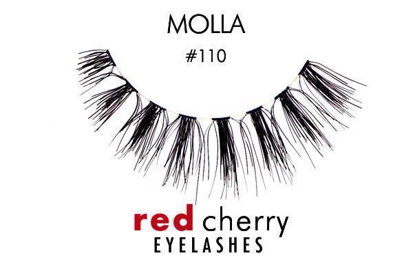 110 - molla - red cherry lashes - lashes