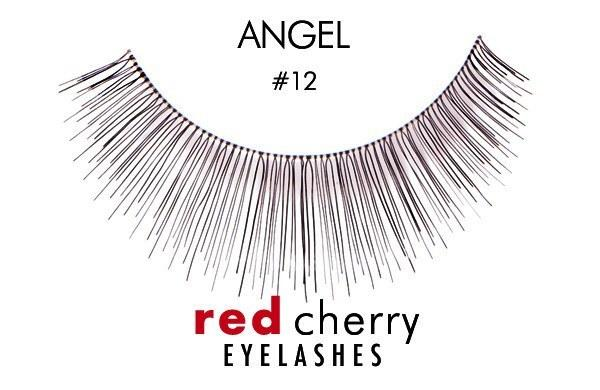 12 - angel - red cherry lashes - lashes