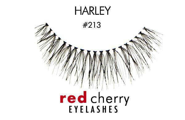 213 - harley - red cherry lashes - lashes