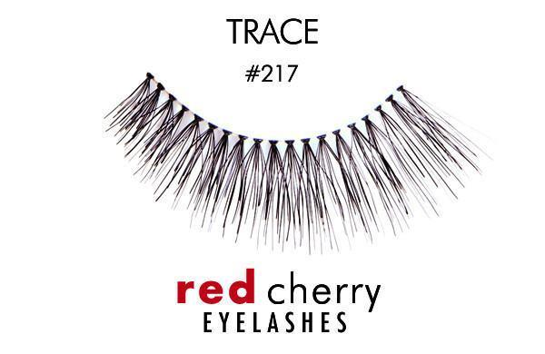 217 - trace - red cherry lashes - lashes