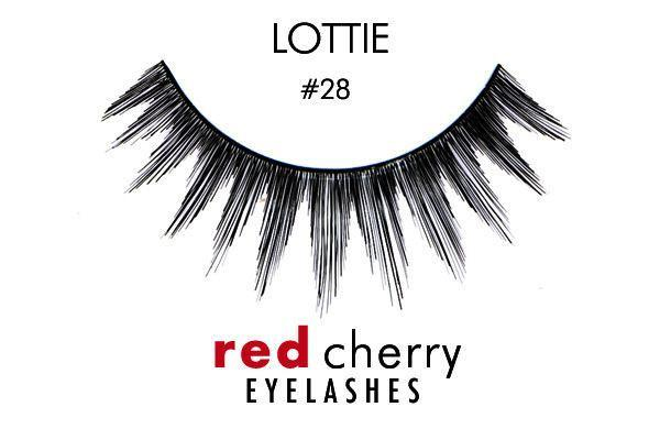 28 - lottie - red cherry lashes - lashes