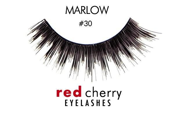 30 - marlow - red cherry lashes - lashes