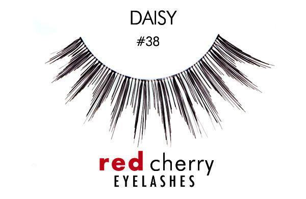 38 - daisy - red cherry lashes - lashes