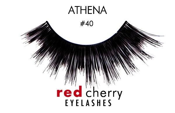 40 - athena - red cherry lashes - lashes